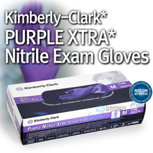 [50603]KC500 PURPLE NITRILE-XTRA* Exam  Glove Large  [50매*10카톤/BOX]